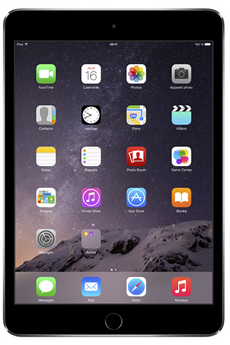 iPad IPAD MINI 3 128 GO WI-FI GRIS SIDERAL Apple