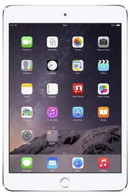 iPad Apple IPAD MINI 3 16 GO WI-FI+CELLULAR ARGENT