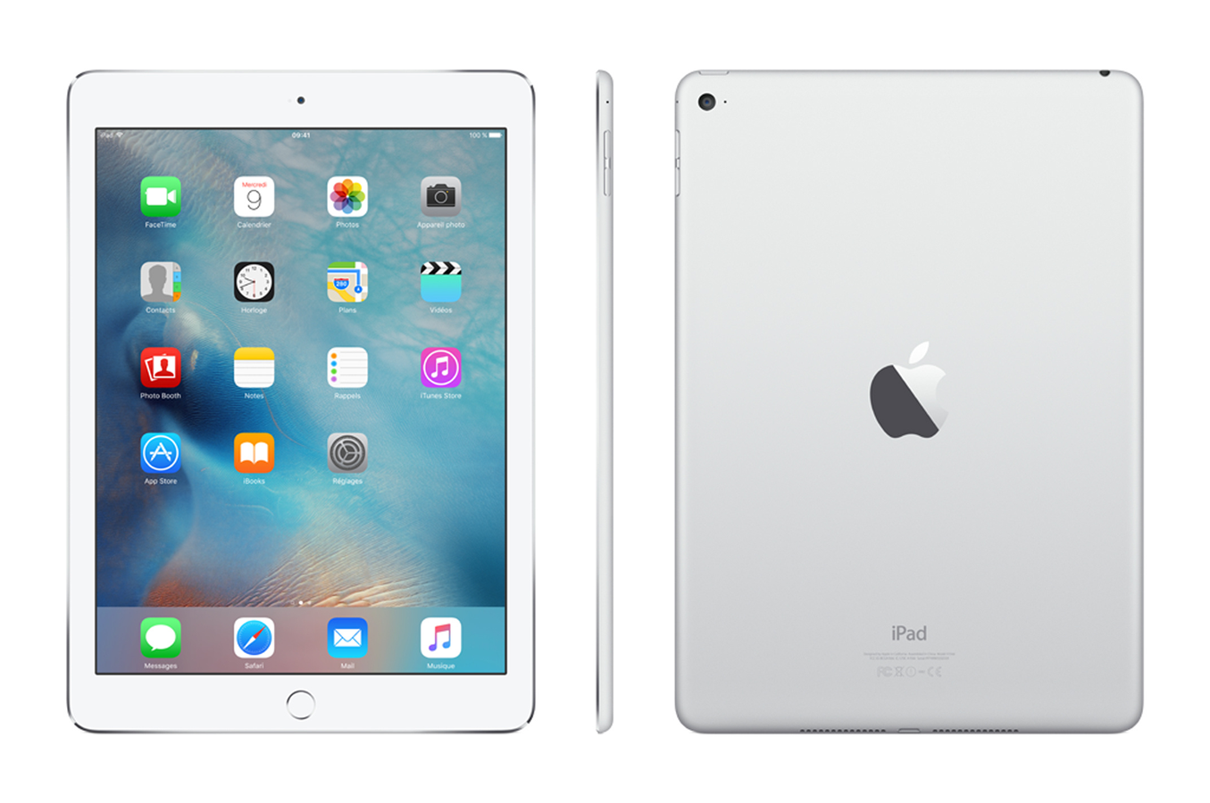 ipad apple ipad air 2 16 go wi fi argent ipad air 2 wifi