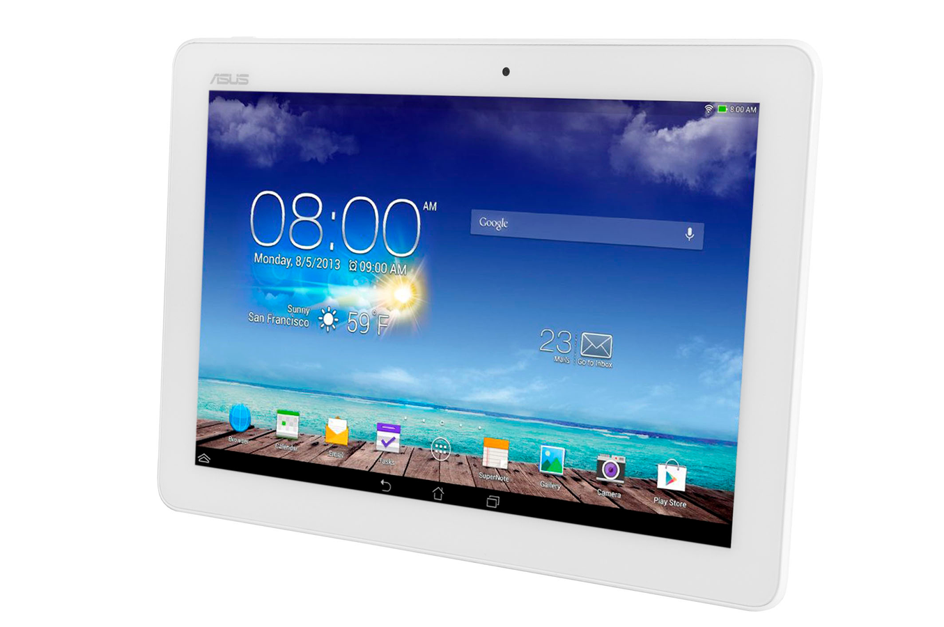 Tablette tactile asus memo pad 10 me102a 1a018a 10 1 16go for Tablette tactile cuisine