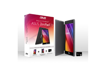 Tablette tactile Z170C-1A045A + SLEEVE PERSONA COVER + MICRO SD 16 GO Asus