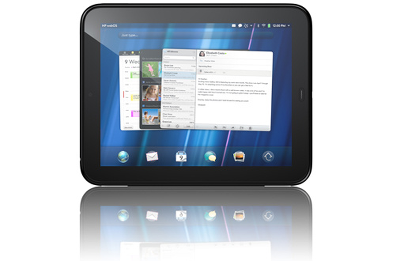 tablette tactile hp touchpad 16 gb touchpad16gb 3459276 darty. Black Bedroom Furniture Sets. Home Design Ideas