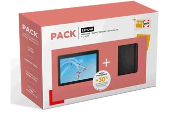 """Tablette tactile Lenovo Pack Lenovo Tab E10 1Go 10"""" + Cover Port Design Noumea Noir"""