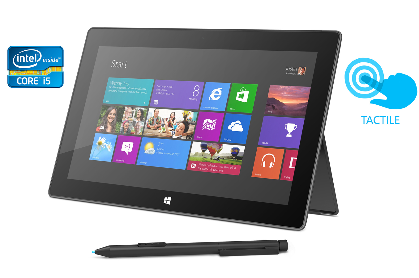 microsoft surface pro 64 go tablette tactile ipad ordinateurpascher. Black Bedroom Furniture Sets. Home Design Ideas