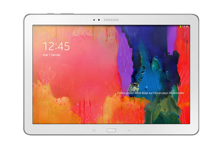 tablette tactile samsung galaxy tab 4 10 1 blanche 16 go darty. Black Bedroom Furniture Sets. Home Design Ideas