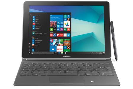 eaca24cbbfb0a8 PC Hybride   PC 2 en 1 Samsung GALAXY BOOK 10,6 quot  clavier et ...