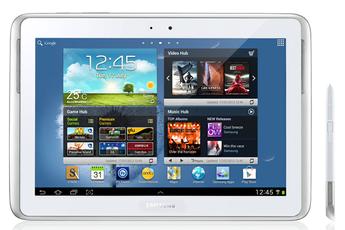 Samsung GALAXY NOTE 10.1 WIFI 16 Go BLANC GT-N8010ZWAXEF
