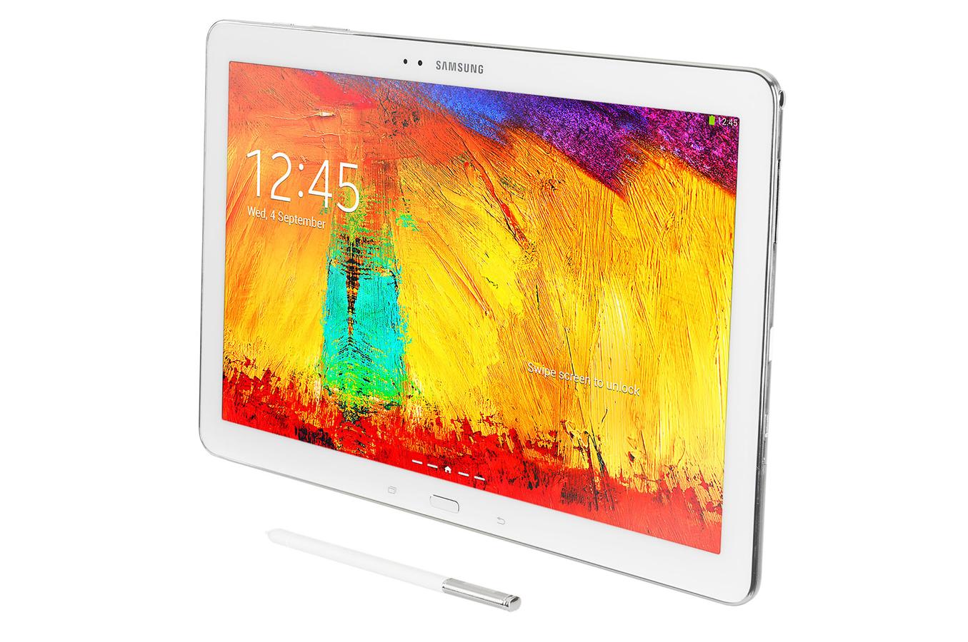 tablette tactile samsung galaxy note pro 12 2 32go blanc. Black Bedroom Furniture Sets. Home Design Ideas