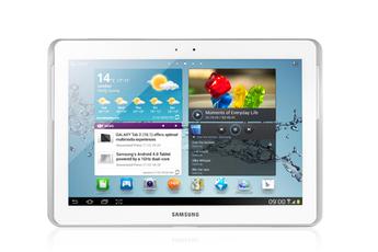 Tablette tactile GALAXY TAB 2 10.1 16 Go BLANC GT-P5110ZWAXEF Samsung