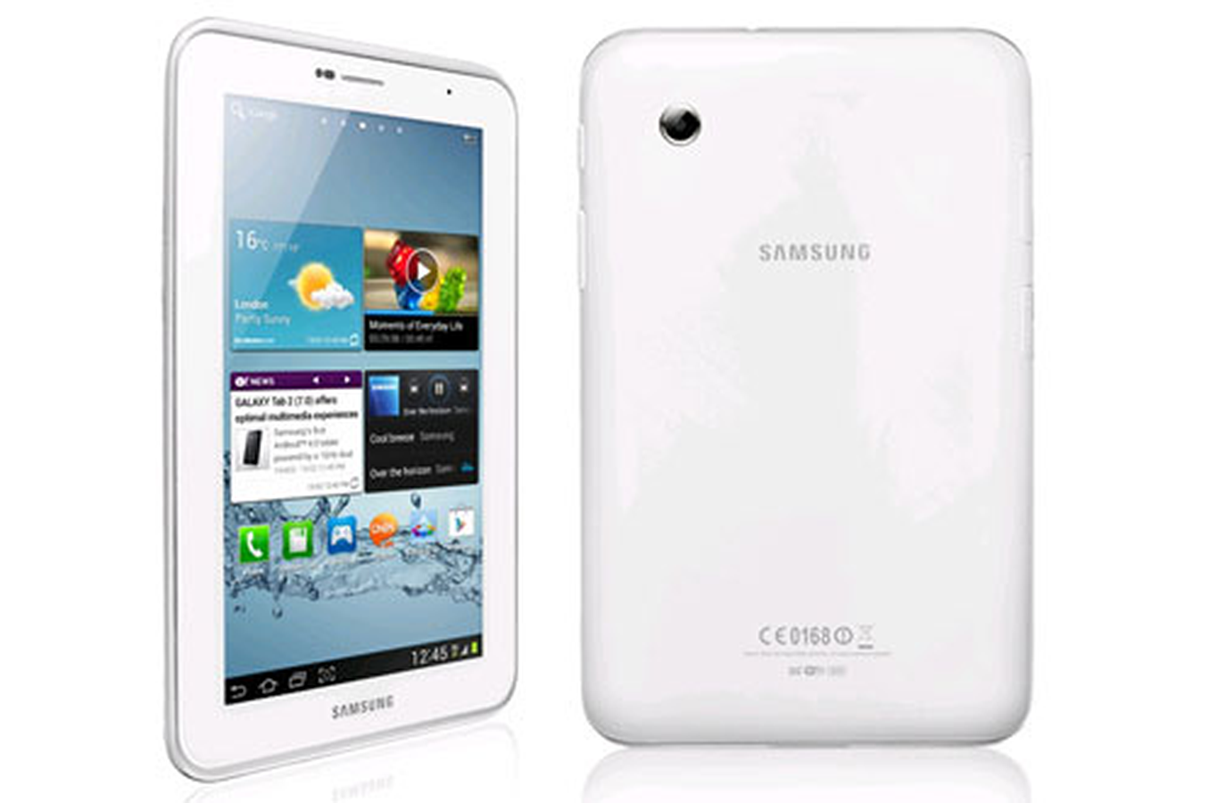 tablette tactile samsung galaxy tab 2 7 0 wifi 8 go blanc. Black Bedroom Furniture Sets. Home Design Ideas