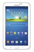 Samsung GALAXY TAB 3 BLANC 7