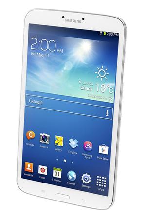 "Tablette tactile samsung galaxy tab 3 blanc 8"" | darty."