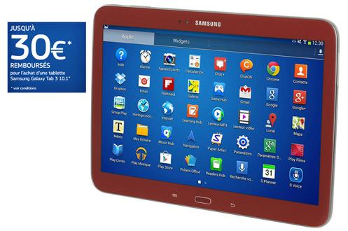 Samsung tablette - Darty tablette tactile samsung ...