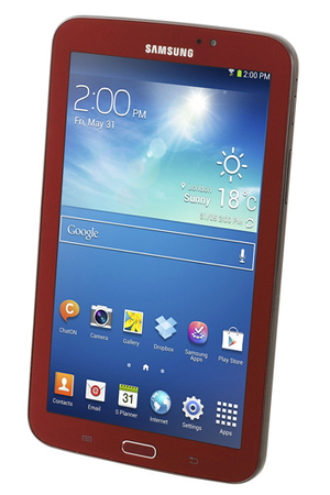 fbe42aba460 Tablette tactile Samsung GALAXY TAB 3 ROUGE 7 quot  - SM-T2100 ...
