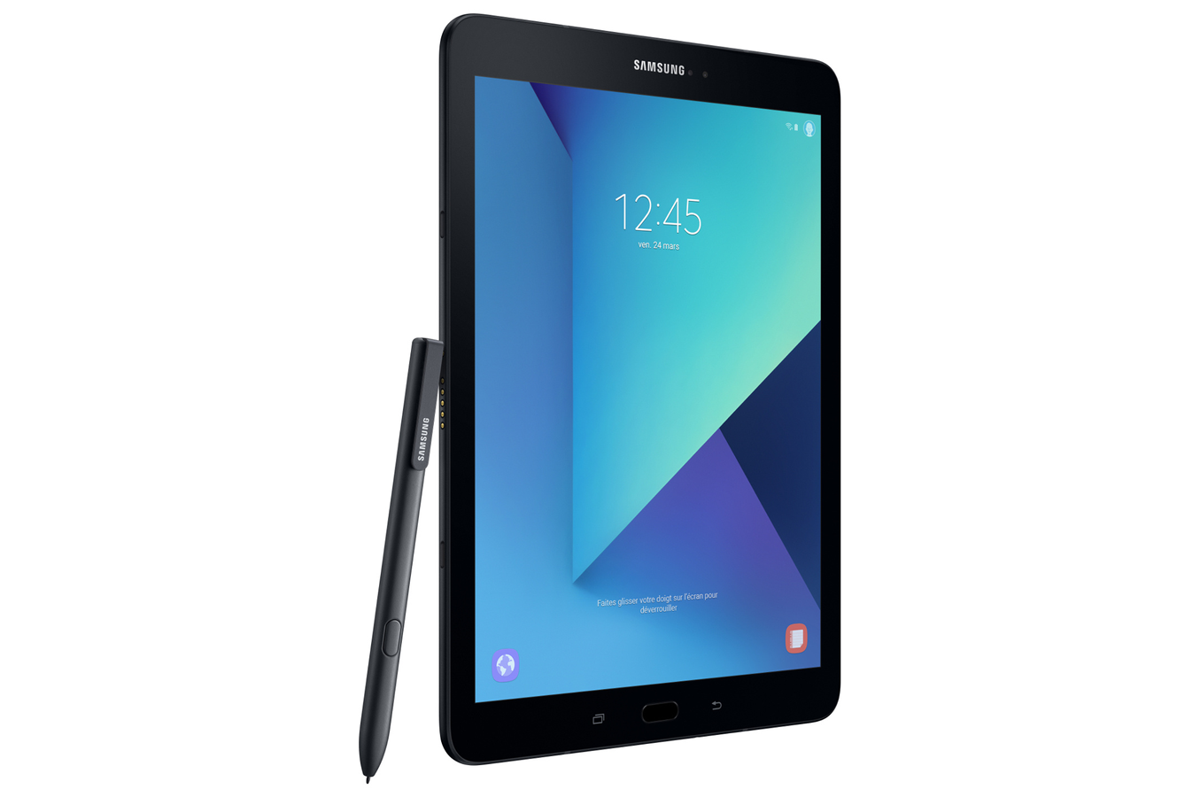 tablette tactile samsung galaxy tab s3 noire 32 go galaxy tab s3 noire 32 go 4302249 darty. Black Bedroom Furniture Sets. Home Design Ideas