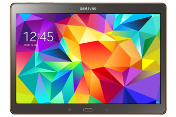 "Tablette tactile Galaxy Tab S 10"" Bronze titanium Samsung"