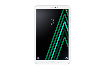 tablette tactile samsung galaxy tab a6 10 1 blanche 32 go. Black Bedroom Furniture Sets. Home Design Ideas