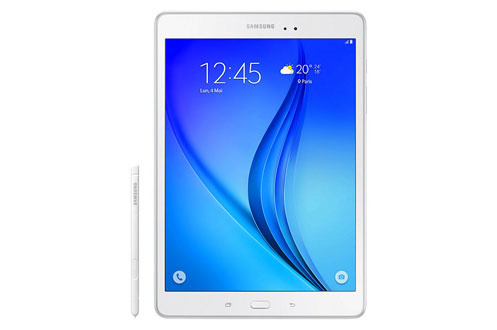 tablette tactile samsung galaxy tab a 9 7 16 go blanche s pen 4170440 darty. Black Bedroom Furniture Sets. Home Design Ideas