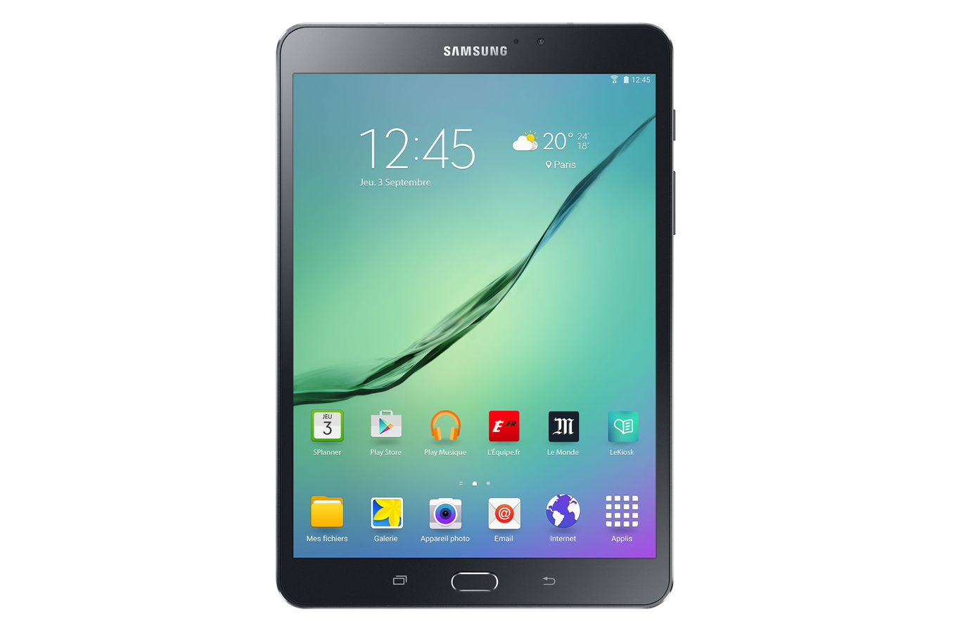 Tablette tactile samsung galaxy tab s2 8 noire 32 go wifi for Tablette tactile cuisine