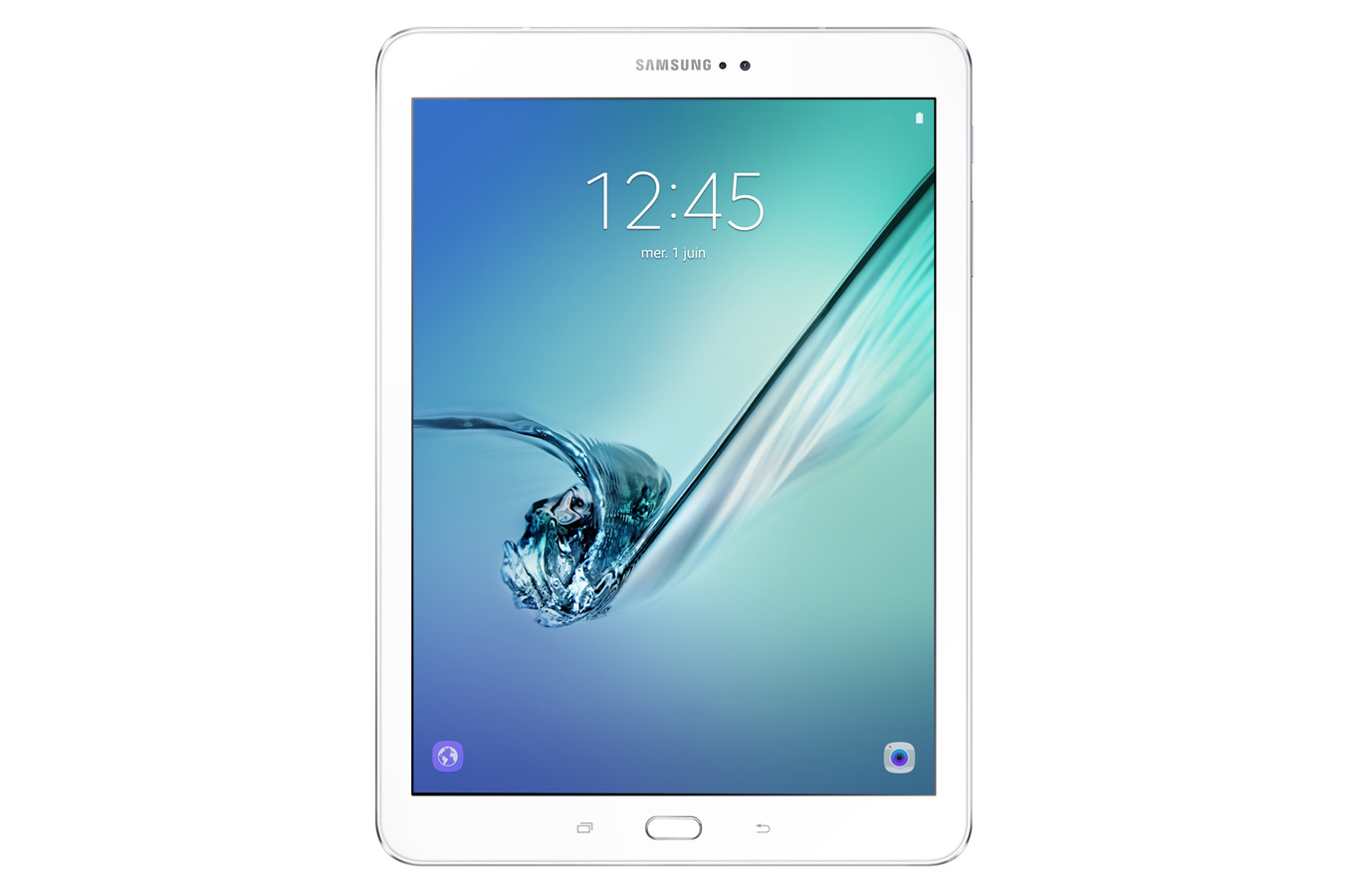 Tablette tactile samsung tab s2 9 7 64 go blanche 4236220 darty - Tablette tactile but ...