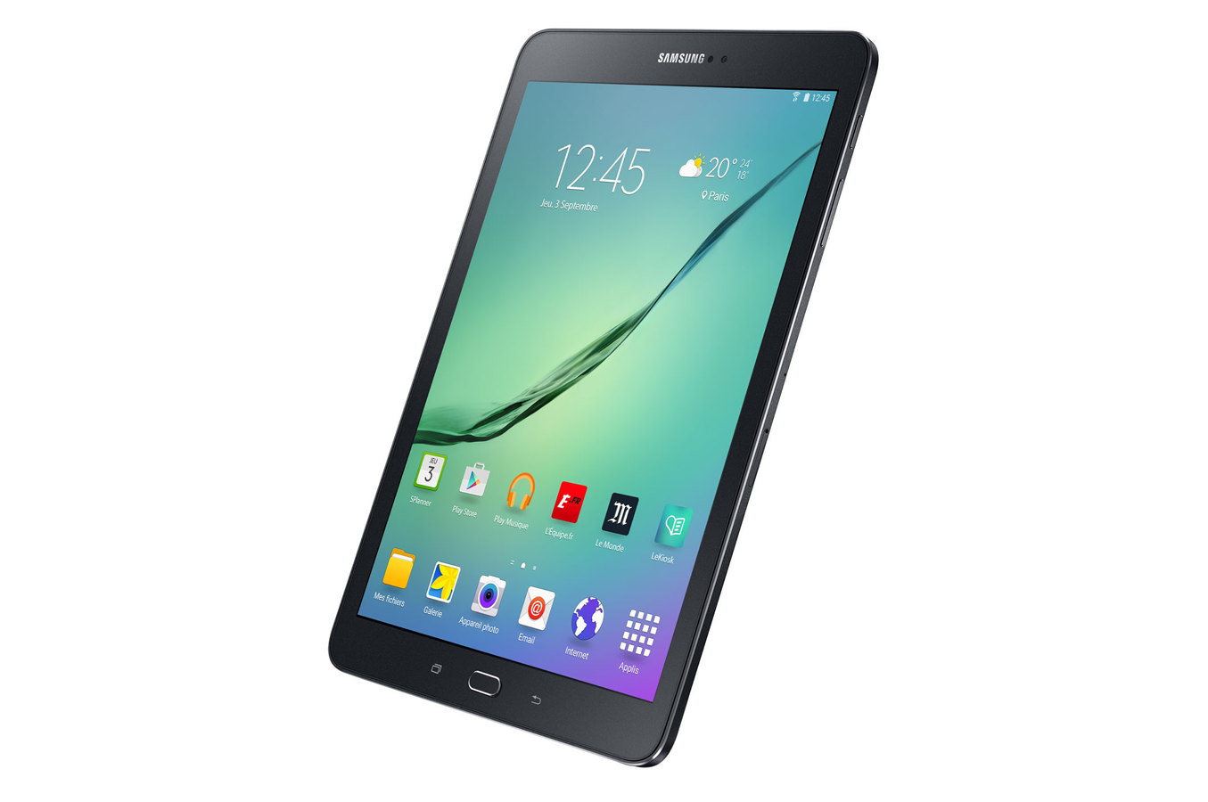 Tablette tactile samsung galaxy tab s2 9 7 noire 32 go for Tablette samsung