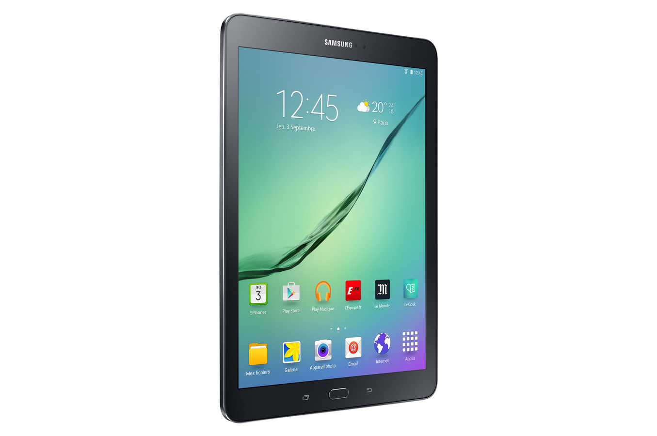 tablette tactile samsung galaxy tab s2 9 7 noire 32 go. Black Bedroom Furniture Sets. Home Design Ideas