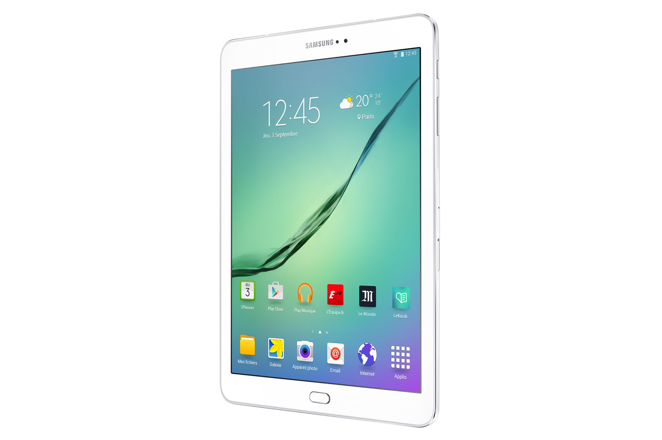 tablette tactile samsung galaxy tab s2 9 7 blanche 32 go. Black Bedroom Furniture Sets. Home Design Ideas