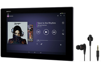 DARTY - Tablette tactile Sony SGP511B1/B Xperia Z2 Tablet 16 Go + Casque Noise Cancelling