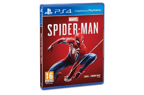 Jeux PS4 MARVEL SPIDERMAN PS4 Sony