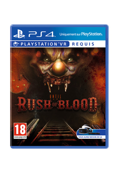 Jeux PS4 RUSH OF BLOOD Sony