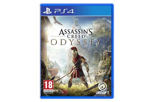 Jeux PS4 Assassin's creed odyssey Ubisoft