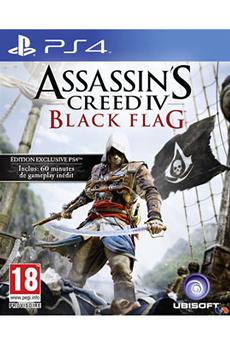 Jeux PS4 ASSASSIN'S CREED IV : BLACK FLAG Ubisoft