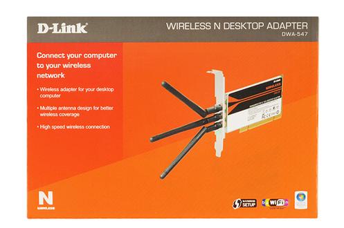 D-link WiFi N PCI DWA-547