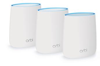 Netgear Orbi Pack routeur + 2 satellites (RBK23-100PES)
