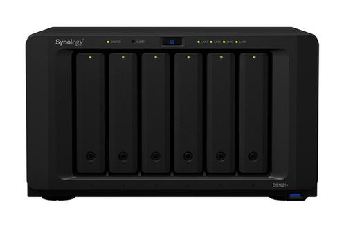 Serveur NAS Synology DiskStation DS1621+ Noir