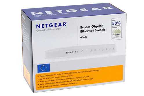Netgear SWITCH GS608-300PES