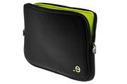 """Be.ez Housse Noir et verte pour MacBook 13"""" ou PC 13"""""""