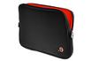 """Sacoche pour ordinateur portable Housse Noire et orange pour MacBook 13"""" ou PC 13"""" Be.ez"""