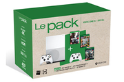 Consoles Xbox One Microsoft PACK XBOX ONE S + 2 MANETTES SANS FIL - MAFIA 3 - GRAND THEFT AUTO 5 - GEARS OF WAR 4