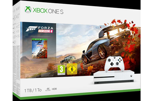 Xbox One S 1 To + Forza Horizon 4