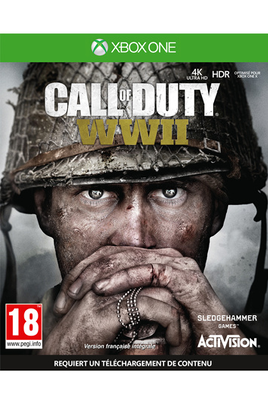 Jeux Xbox One CALL OF DUTY WORLD WAR II XBOX ONE Activision