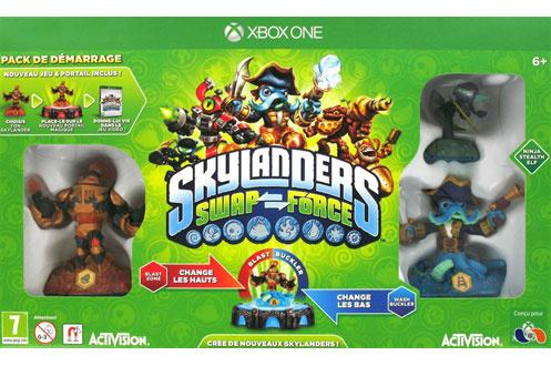 Jeux xbox one activision skylanders swap force pack de - Jeux gratuits skylanders ...