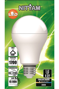 Ampoule LED Nityam LED STANDARD A60 18W 3000K