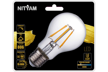 Ampoule LED Nityam LED STANDARD FILAMENT CLAIR