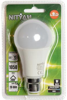 Ampoule LED Nityam GLOBE DEPOLIE B22 12W