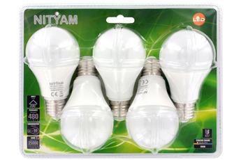 Ampoule LED STAND DE27 6Wx5 Nityam