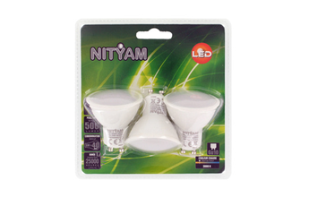 Ampoule LED PACK GU10 6W X3 Nityam