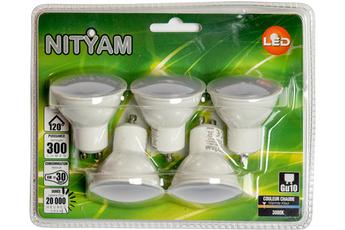 Ampoule LED SPOT DEPOLIE GU10 4W (X5) Nityam