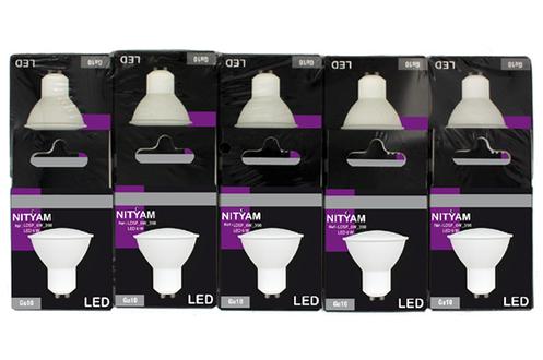 Ampoule LED LED SPOT GU10 6W - PACK X10 Nityam