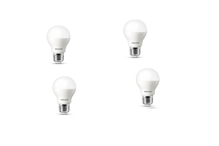 ampoule led philips stand 40w culot e27 x 4 stand 6 5w 40w culot e27 x 4 darty. Black Bedroom Furniture Sets. Home Design Ideas